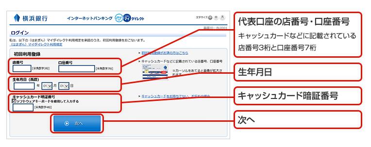 銀行 ネット バンキング 横浜
